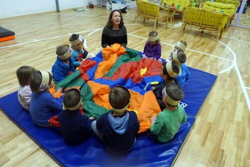 Otroški Rojstni Dan v športni dvorani