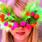 pustne maske za deklice