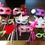 ideje za pustne maske - bleščice