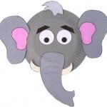 ideje za pustne maske - slon