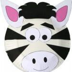 ideje za pustne maske - zebra
