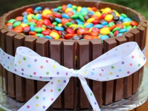 Otroška torta iz čokolade