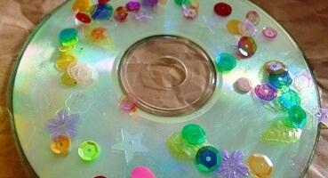 recikliranje-cd-dekoracija