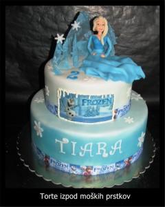 Torta za otroke - frozen