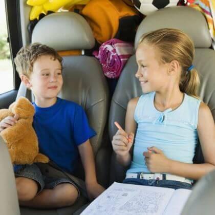 aktivnosti v avtu