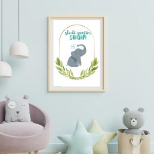 Personalizirana stenska dekoracija – Sledi svojim sanjam