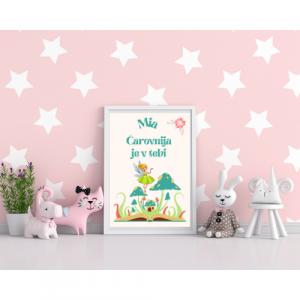 Personalizirana stenska dekoracija – Čarovnija je v tebi