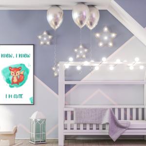 Personalizirana stenska dekoracija – Lisička