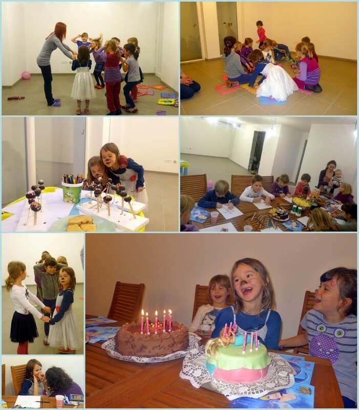 rojstni dan na domu