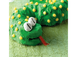 Otroška torta - kača