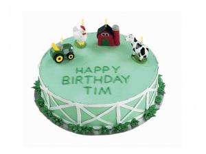 Torta za otroke - kmetija živali