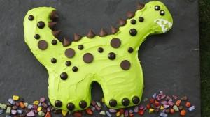 Torta za otroke - dinozaver