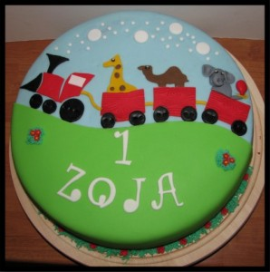Otroška torta - prvo leto