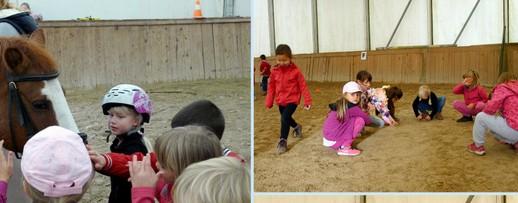 Otroški rojstni dan z jahanjem konjev ali ponijev tudi pozimi