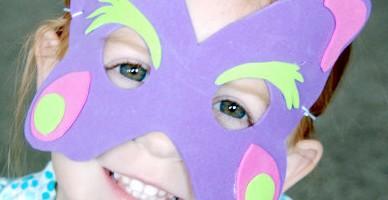 Kako si sami naredimo pustno masko?