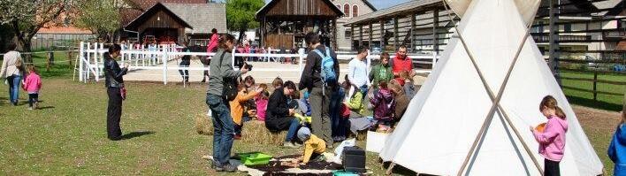 Dan odprtih vrat domačije Lušina in delavnice za otroke