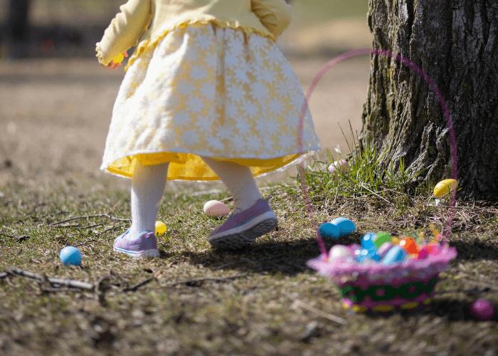 Nepozabna velikonočna igra: lov na jajca