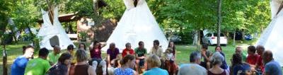 Indijanski tabor za celo družino