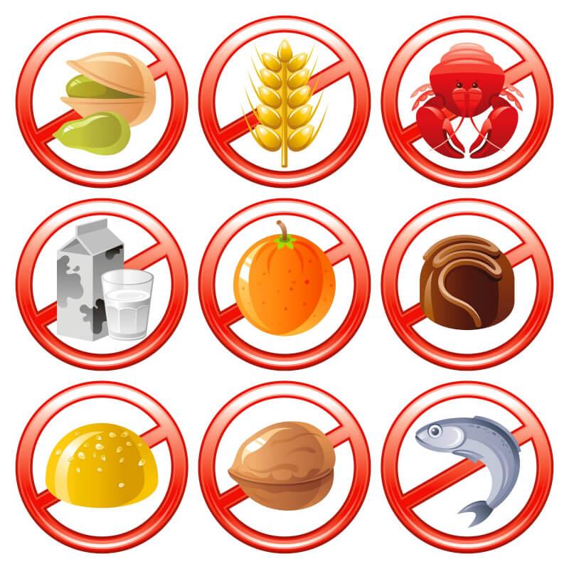 Najpogostejše alergije na hrano