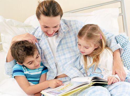 branje otroku