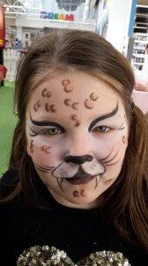 gepard poslikava
