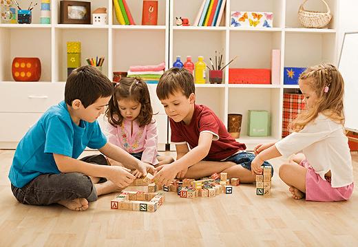 Zaposlitev v otroški igralnici