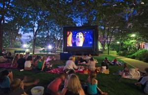 kino na prostem za otroke