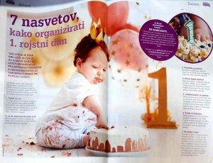 liza clanek-kako organizirati prvi rojstni dan
