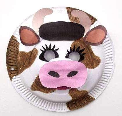 pustna maska krava