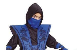 Ninja tematski rojstni dan