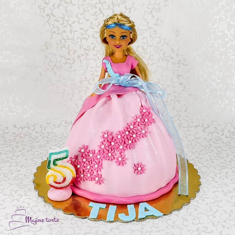 barbi princesa torta