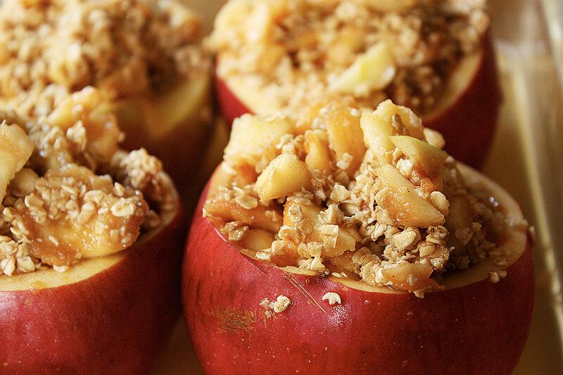 jabolka z orehi