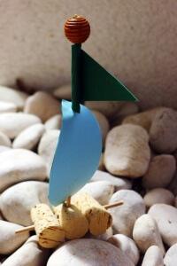 poletni colnicek iz plute za otroke