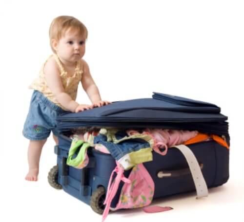 Česa ne smete pozabiti vzeti na potovanje z otrokom?