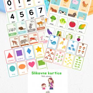 Slikovne kartice (22 strani)