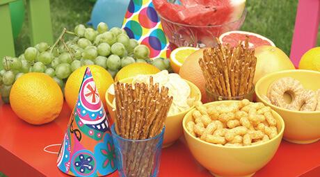 9 nasvetov za pripravo hrane na otroškem rojstnem dnevu