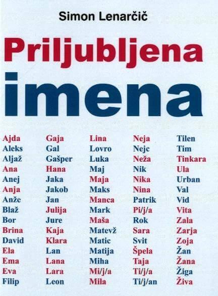 imena otrok