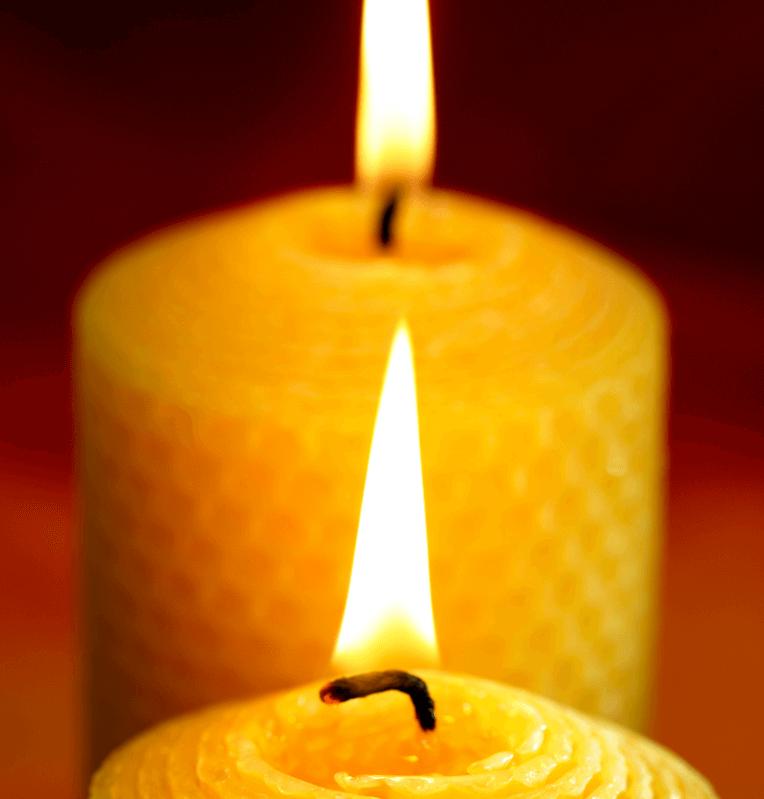 cebelji vosek sveca