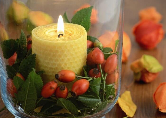Naravne sveče iz čebeljega voska