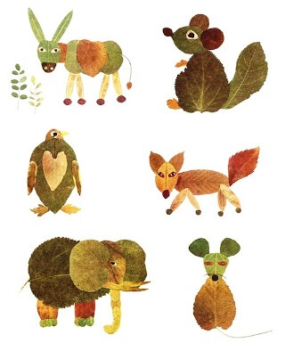 listnate živali